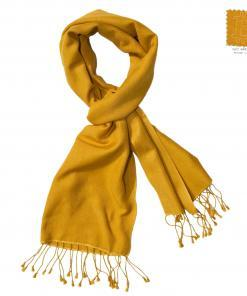 PASHMINA SCARF – 30X150CM – 70% CASHMERE/30% SILK – NARCISSUS