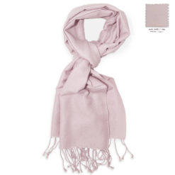 PASHMINA SCARF – 30X150CM – 70% CASHMERE/30% SILK – BARELY PINK