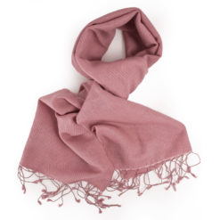 PASHMINA SCARF – 30X150CM – 70% CASHMERE/30% SILK – WITHERED ROSE