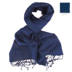 PASHMINA SCARF – 30X150CM – 70% CASHMERE/30% SILK – INSIGNIA BLUE