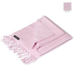 Pashmina Stole – 70x200cm – 70% Cashmere / 30% Silk – Pink Lady