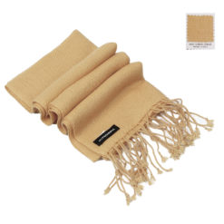 Cashmere Scarf - Candied Ginger