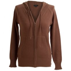 Cashmere Hooded Top - Cocoa