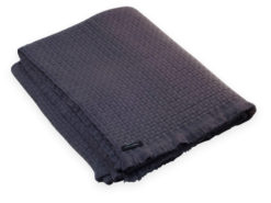 6ply Boxweave Blanket - 100% Cashmere - 140x180cm - Rabbit