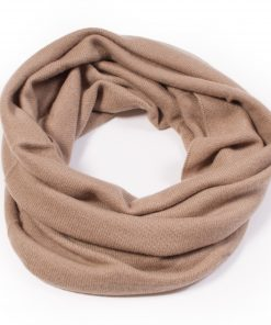 Cashmere Snood in Dune