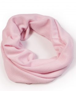 Cashmere Snood in Pink Lady
