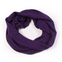 Cashmere Snood in Blackberry Cordial