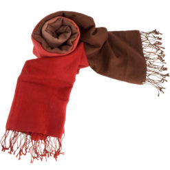 Shaded Pashmina Stole - 70% Cashmere / 30% Silk