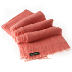 Angelweave Pashmina - 90% Cashmere / 10% Silk - 55x200cm - Rose Of Sharon