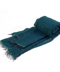 Angelweave Pashmina - 90% Cashmere / 10% Silk - 55x200cm - North Sea