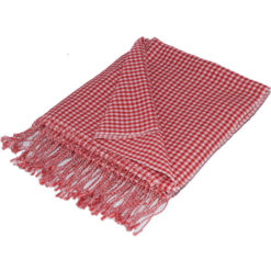 Gingham Stole- 70% Cashmere/30% Silk - 70x200cm - Formula One