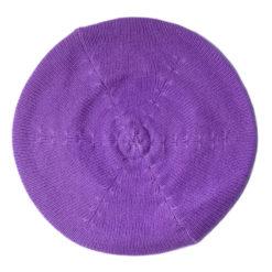 Cashmere Beret - Persian Violet