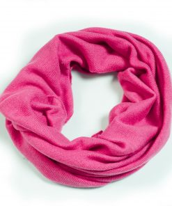 Cashmere Snood in Very Berry