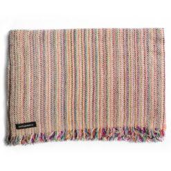 Cashmere Striped Scarf - SRS55 - 33x180cm