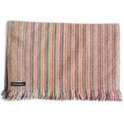Cashmere Striped Scarf - SRS57 - 34x180cm
