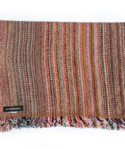 Cashmere Striped Scarf - SRS58 - 31x180cm