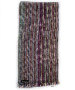 Cashmere Striped Scarf - SRS78 - 47x180cm