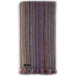 Cashmere Striped Scarf - SRS83 - 47x180cm