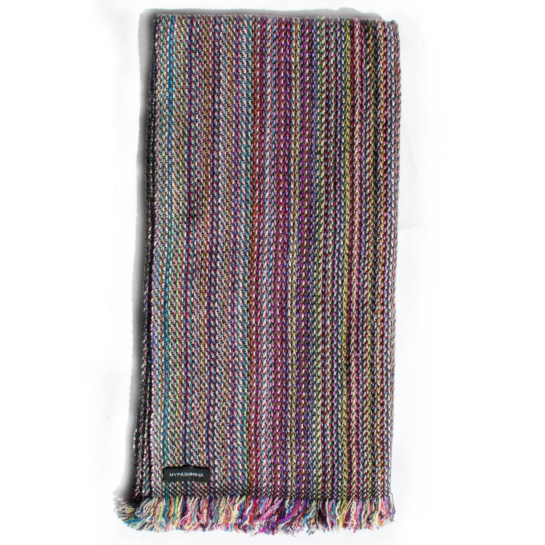 b532291db1c40 Cashmere Striped Scarf – SRS91 – 45x180cm – Mypashmina