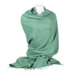 Pashmina Shawl - 90x200cm - 70% Cashmere / 30% Silk - Peapod
