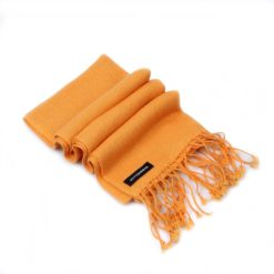 Pashmina Scarf - 30x150cm - 100% Cashmere - Apricot