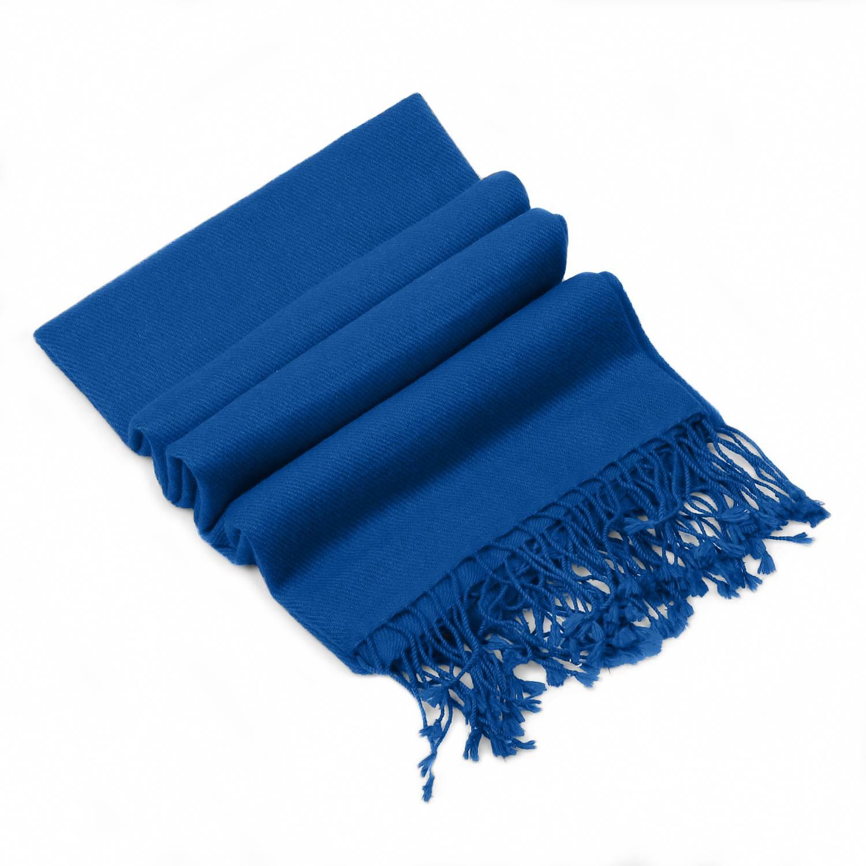 Princess Blue Pashmina - 100% Cashmere