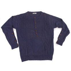 Mens Grandad Shirt - Bamboo & Cashmere