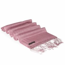 Jacquard Water Pashmina - Wood Rose